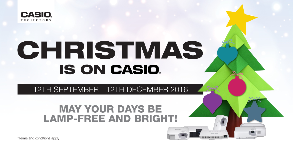 Projector Reseller Christmas Promotion Banner